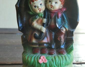 Vintage hummel like music figurines