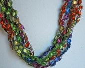 Confetti  - Crocheted Necklace