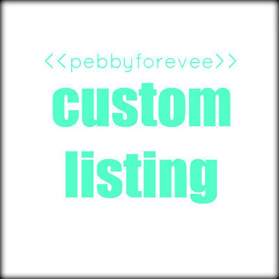 MICHELLE629- reserved listing