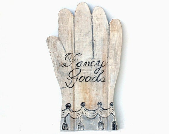 Trade Sign - Fancy Goods - Glove