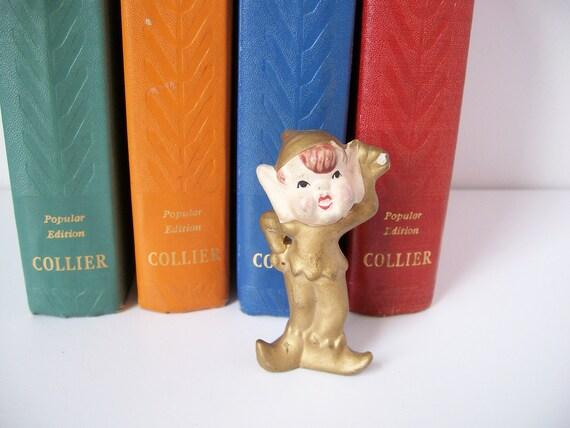 "Golden Pixie Figurine ""Etsy Sales Fairy"""