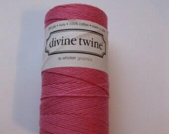 Full Spool - PINK DIVINE - Deep Pink Bakers Twine (240 yards)