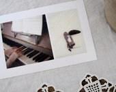 Diptych Piano Pinecones film print - Diptyque 8 -  Hasselblad fine art film print 8 x 12 - LumiereDuMatin