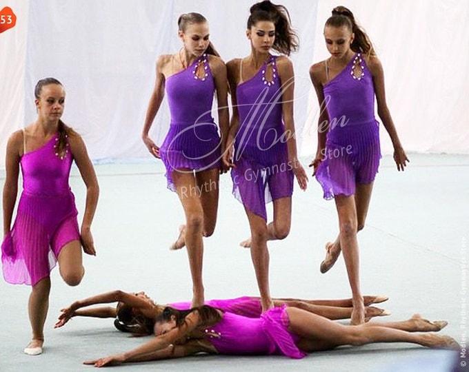 Платья художественная гимнастика