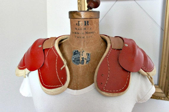 SALE   Vintage Football Shoulder Pads