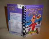 Santa Claus Is Coming To Town VHS Notebook