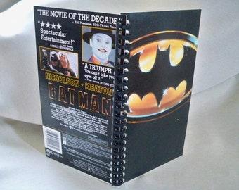 Batman VHS box notebook