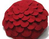 Wonderful Fashion wool Felt Flower hat, Lady hat