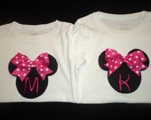 Personalized Minnie Mouse shirts