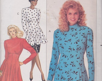 Butterick 6789 Misses'/Misses' Petite Dress, Tunic and Skirt Pattern, UNCUT, SIze 6-8-10, Nicole Miller