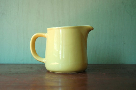 Kaj Franck Arabia of Finland Yellow Pitcher - Mid Century Ceramic Pitcher