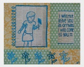 Come to You- Mixed Media Print