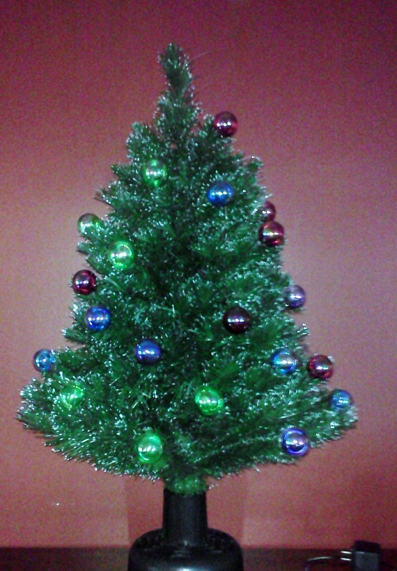 Tabletop Christmas Tree Fiber Optic