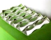 RESERVED  12 glass knife rests, made in France