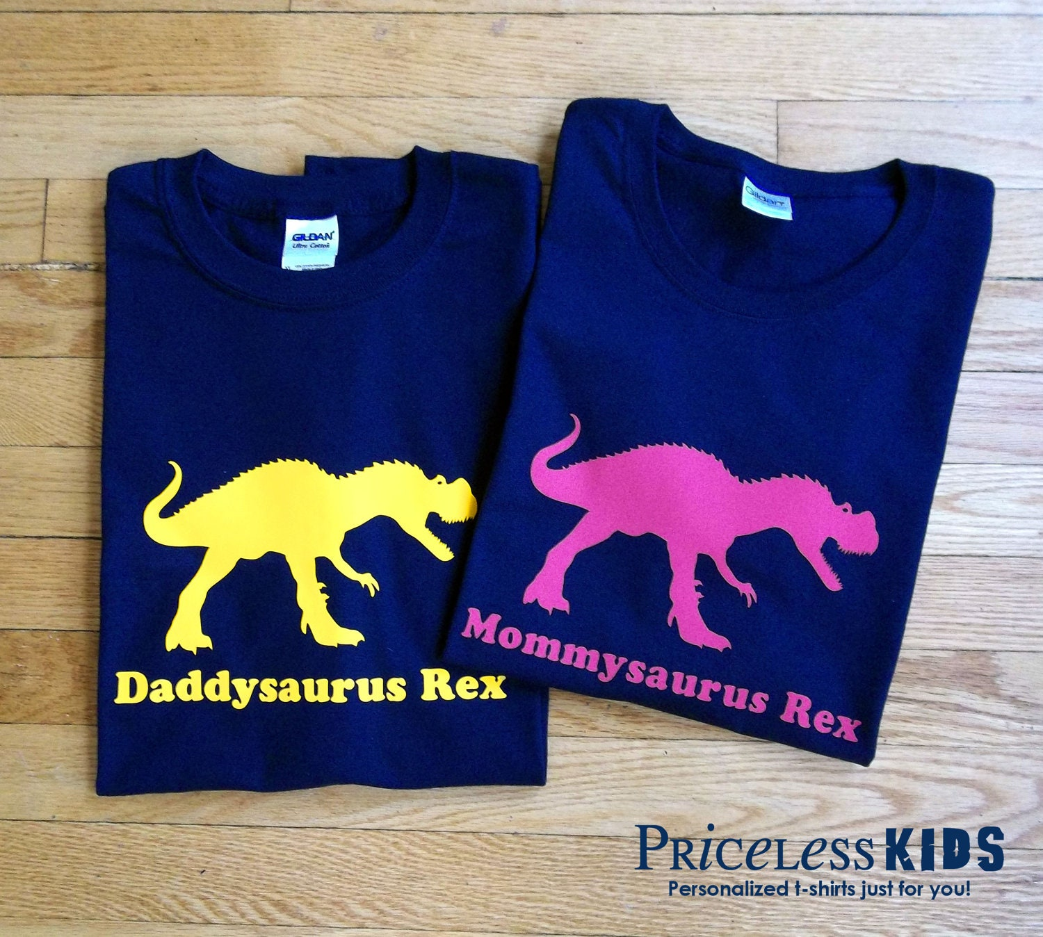 Design your own t shirt infant -  Personalized Adult Dinosaur Tshirt Combo Zoom