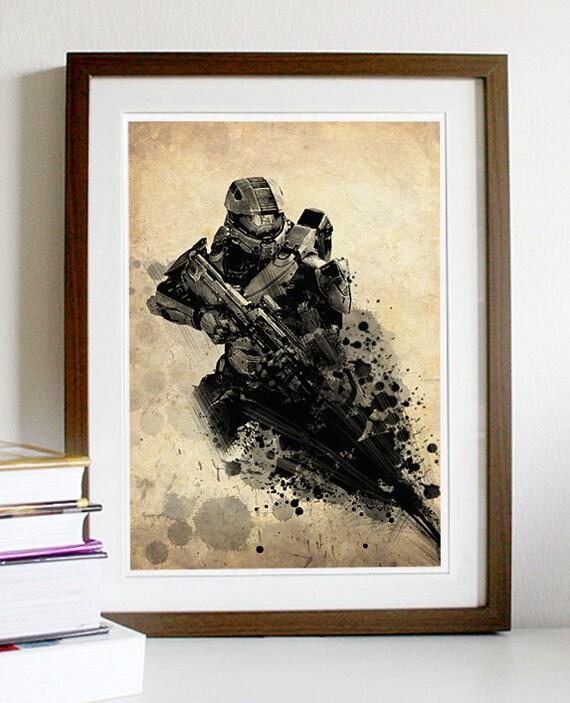 Halo 4 Poster Print