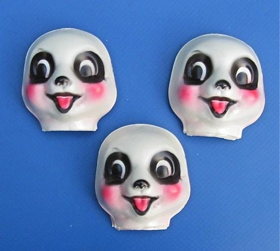 Panda Animal Faces, 24 Pieces