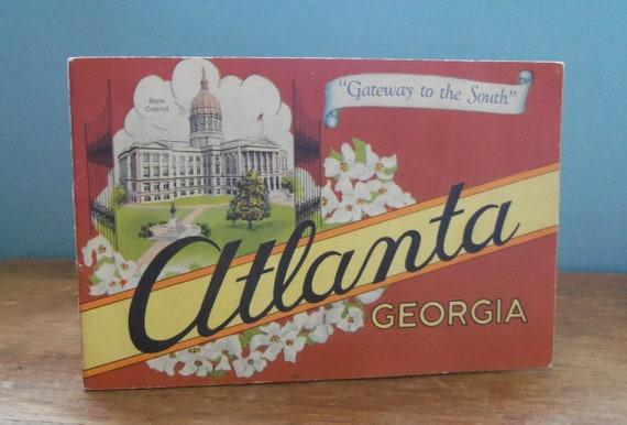 Vintage Book Atlanta Georgia Gateway to the South