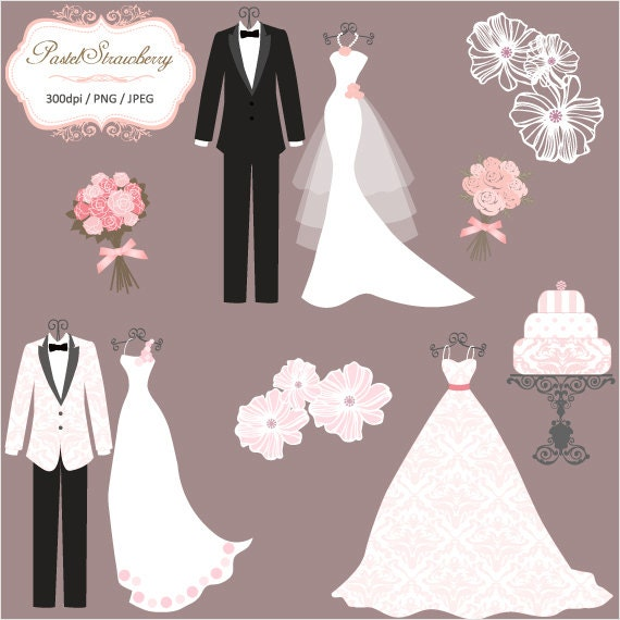 3 Luxury Wedding Dress & 2 Tuxedos Personal Or Small