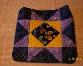 Purple star butterfly bag   4