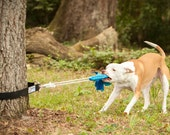 Super Tug - Strong Dog Toy - Safe Alternative to Spring Pole or Rope