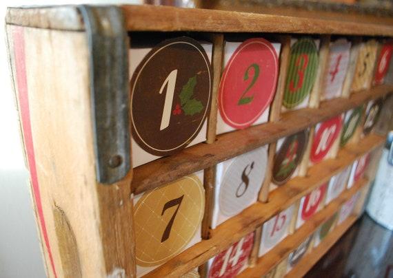 Soda Crate Advent Calendar