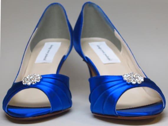 Royal Blue Wedding Heels