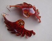 Pheonix Wing Earrings