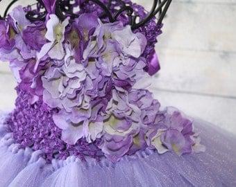 Custom order for Joyce lavender and purple,sugar plum tutu dress