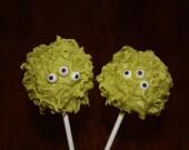 One Dozen Monster or Alien Cake Pops - Made to Order