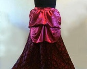 Tie On Bustle Train Victorian Steampunk Free Size Plus Clearance