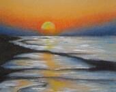 Sunrise Beach Scene  50% off sale on this item until Dec 25th