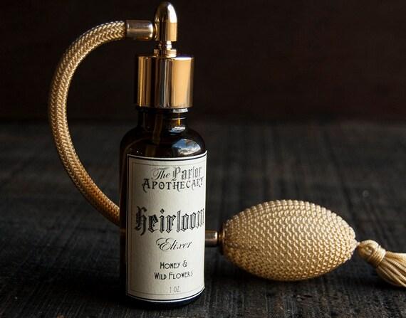 RESERVED For Anne Heirloom Elixir - Honey Perfume -Wild Flower - 1 0z.