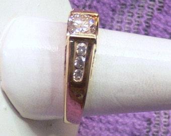 Diamond WEDDING Ring size 7