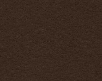 """18"""" x 24"""" Dark Brown Acrylic Felt FQ - equal to 4 Sheets Felt"""