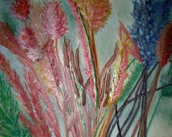 Autumn Grasses - Print