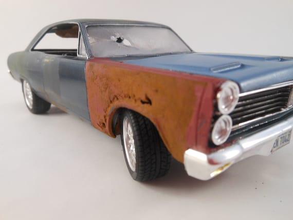 1966/67 Mercury Cyclone 1/24 model car in green