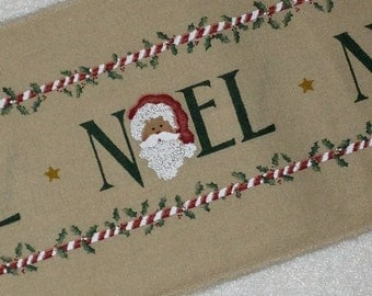 Vintage Daisy Kingdom Fabric Noel Border  - OOP