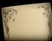 Victorian Web - Writing Paper (Set of 10)