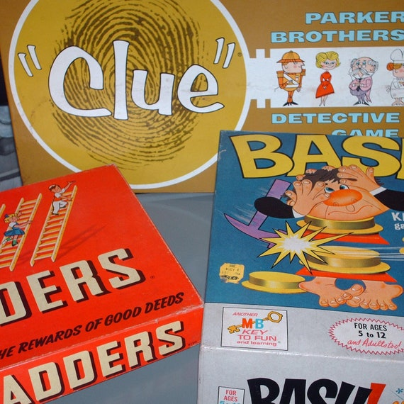60s Board Games 1950 And 60s Board Games
