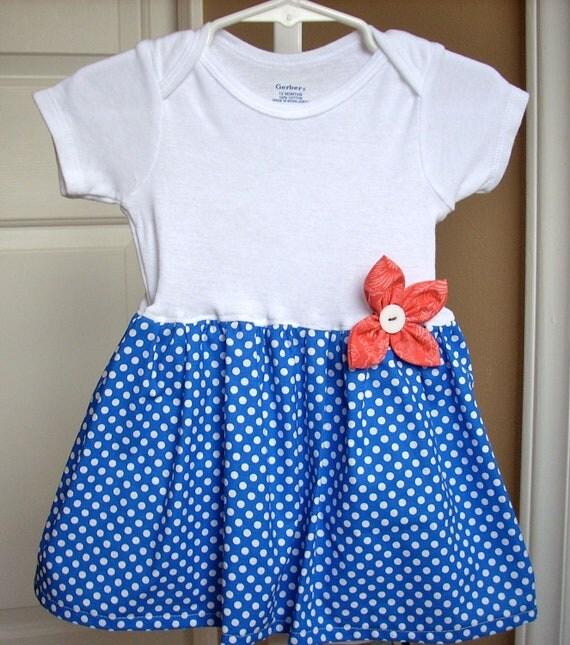 Baby dress childrens clothes girls dress pillowcase dress  baby clothes girls clothes onesie