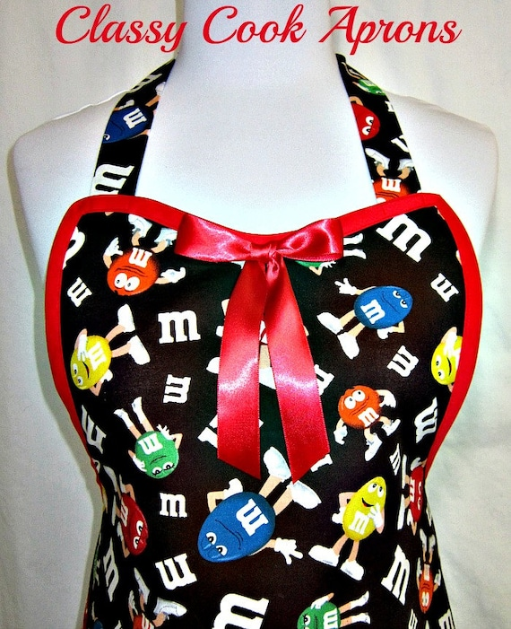 Apron Chocolate M&M, Candy Characters, Party Hostess, Fun Kitchen Gift