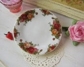 Old Country Roses Dollhouse Plate