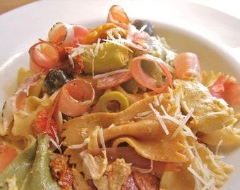 My Pancetta Pasta Salad