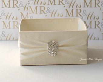 Wedding Program Box Bubble Box - Custom Made to Order