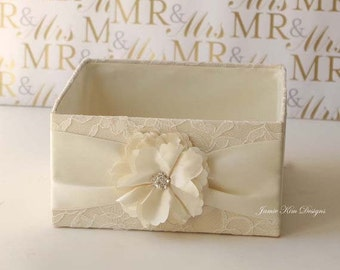 Wedding Program Box, Favor Box, Bubble Box