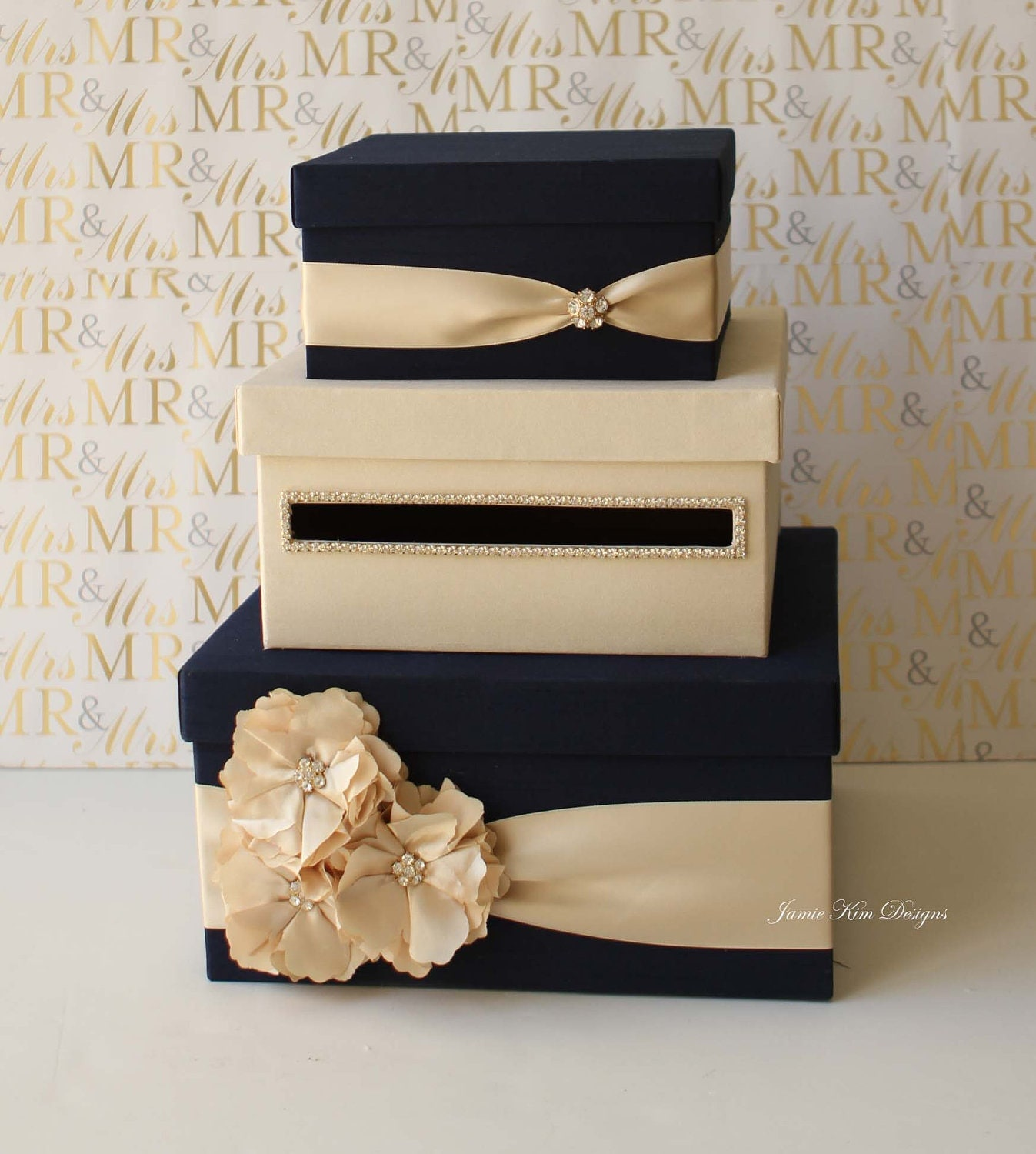 Wedding Gift Boxes Pinterest : card box wedding decorations Pinterest