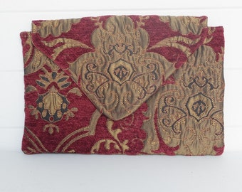 Handmade Victorian Bag Clutch Clutches