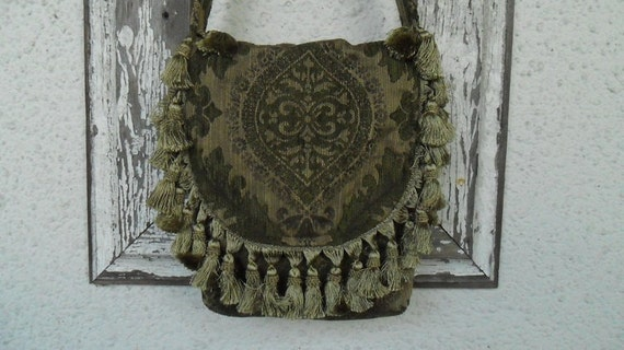 Bohemian Gypsy Messenger Bag Purse