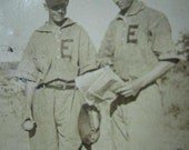 Pitcher & Catcher...1940's Vintage Photo - Lovalon